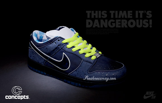 NiKE SB -- BlUE lOBSTER DUNK lOW PREMiUM [ JUNE 2OTH ]